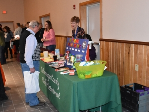 Cattaraugus County Health Department Table at 2016 Farmer Neighbor Dinner