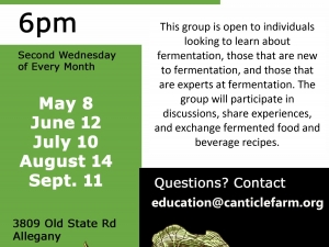 Canticle Farm's Fermenation Club