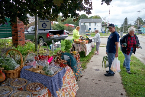 South Dayton Farmer's Market by Tim Stockman