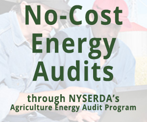 No-Cost Energy Audits through NYSERDA's Agriculture Energy Audit Program