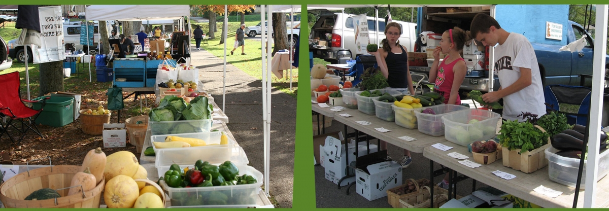 Collage of Farmers' Markets