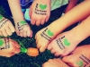 """Kids hands stamped with """"I Love Farmers Markets"""" submitted by S.Avery"""