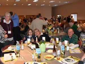 3 Generations Having Fun at 2016 Farmer Neighbor Dinner