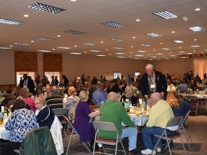 Audience at 2016 Farmer Neighbor Dinner