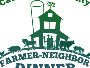 Cattaraugus County Farmer-Neighbor Dinner logo for 2020