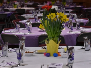 Decorated & Set Dining Tables