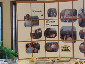 Farm Bureau display at the 2012