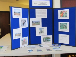 Cattaraugus County Soil & Water display