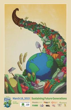 2015 National Ag Day Poster