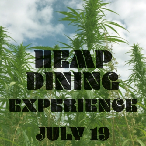 Hemp Dining Experience July 19, 2020