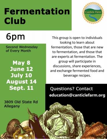 Canticle Farm's Fermenation Club
