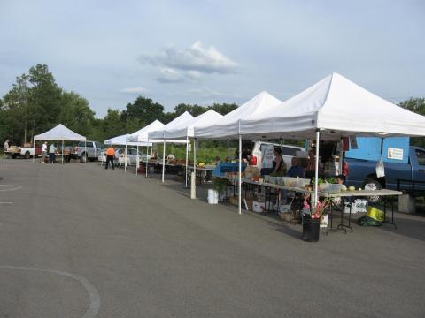 Farmers' Market at Tractor Supply in Olean, NY