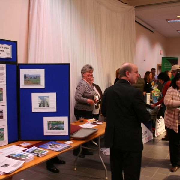 Cattaraugus County Soil & Water Conservation District display
