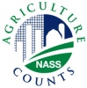 Logo for Agriculture Counts - NASS